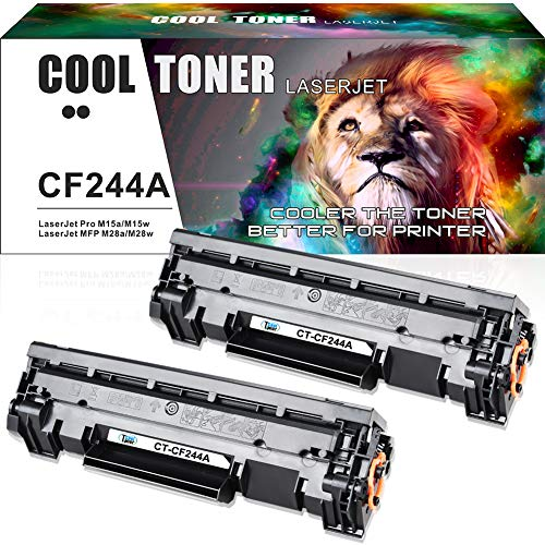 Cool Toner Compatible Toner Cartridge Replacement voor HP CF244A 44A Zwart (met chip) Toner voor HP Laserjet Pro M15w M15a HP Laserjet Pro MFP M28w MFP M28a HP Laserjet ProM29w M29a M16w M16a Printer