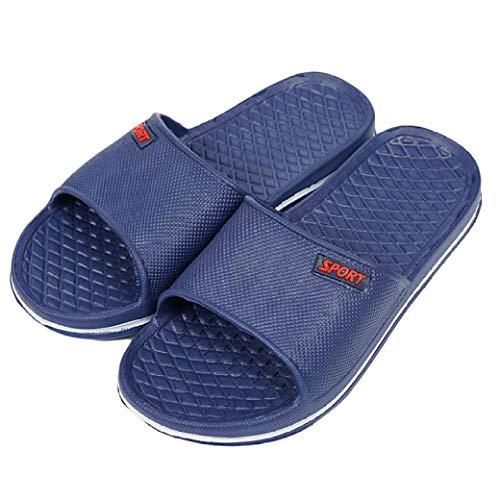 Men Slipper Shoes Men's Slip On Sport Slide Sandals Flip Flop Shower Shoes Slippers House Pool Gym Sandal Slippers