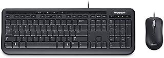 مايكروسوفت Wired Desktop 600 for Business Keyboard - Black
