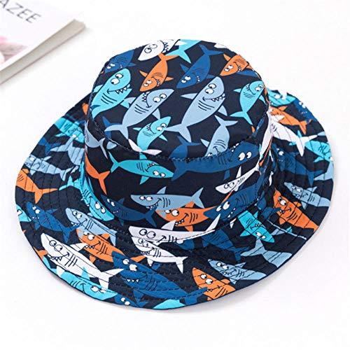 N/N Sombrero De Sol para Bebés Niños Panamá Bucket Fishing Floppy Cartoon para Niños Niños Niña Sombreros De Bebé para Niños Baby Girl-Style_H_M_ (1-3_Years)
