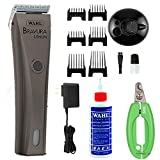 Wahl Professional Animal Bravura Lithium Clipper (Gunmetal with Oil & Clippers)