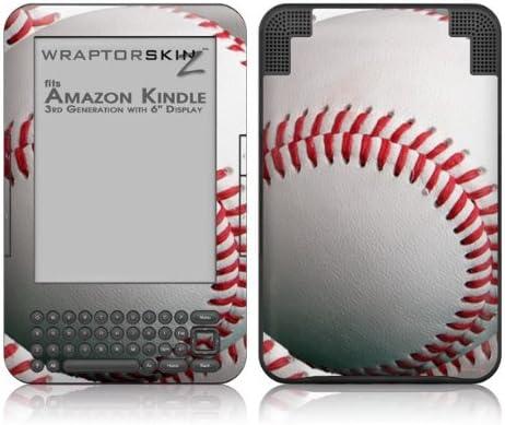 WraptorSkinz Great interest Baseball Max 77% OFF - Decal Style Skin Ke fits Kindle Amazon 3