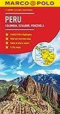 Peru, Colombia, Venezuela Marco Polo Map (Ecuador, Guyana, Suriname) (Marco Polo Maps)