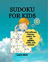 Sudoku for kids 9x9 with dinosaurs: 200 amazing sudoku puzzles for kids / Normal to advanced with instructions and solutions/ Perfect sudoku activity book for smart kids