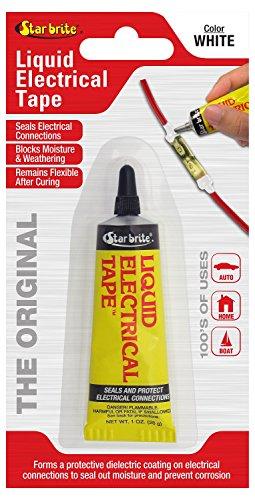 Star brite Liquid Electrical Tape - LET White 1 oz Tube