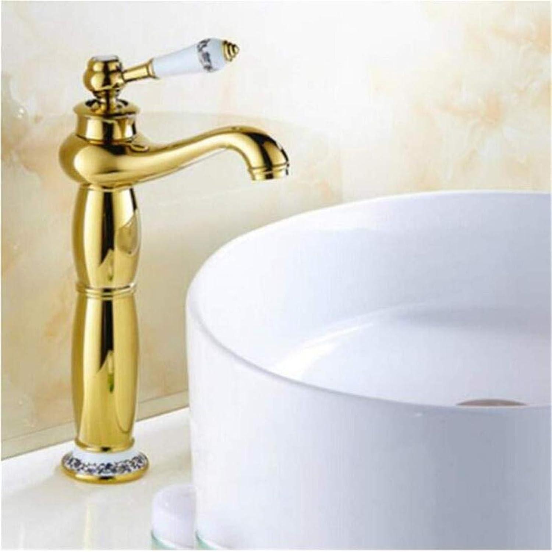 Wasserhahn Küche Bad Garten Waschtisch-Mischbatterie Bad-Waschtischarmaturen Messing Ctzl2222