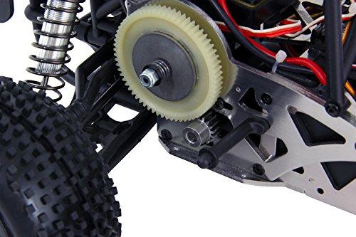 XciteRC 30206000 - Ferngesteuertes RC Modellauto Sand Storm one8 2WD RTR Dune Buggy, 2.4 GHz Brushless 11.1 V, M 1:8, grün