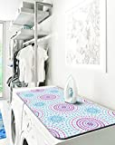 Laundry Solutions By Westex 2-in-1 Portable Steamer Pad, Boho Tile