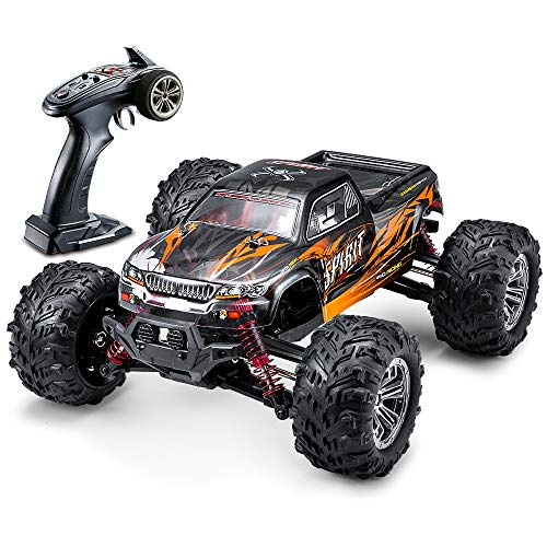 VATOS Spirit Brushless 52km/h High Speed RC Cars 1:16 Remote Control Monster Truck 4WD All Terrain Off-Road 2.4Ghz Shockproof Waterproof RTR Hobby Cars for Intermediate Hobbyist (1:16)