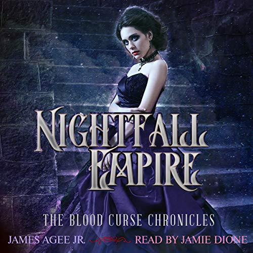 Nightfall Empire audiobook cover art