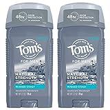 Best Natural Deodorant For Men - Tom's of Maine Men's Natural Strength Deodorant, Deodorant Review