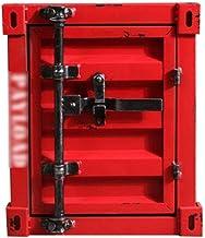 Security Lock Boxes Home Safe, Lock Box, Retro Box Iron Cabinet Locker Display CabinetFunctional Storage Iron Bedside Tabl...