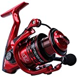 YONGZHI Bulnt Fishing Reels,13+1BB Light Weight and Ultra Smooth Powerful Spinning Reels for Saltwater and Freshwater Fishing-5000R