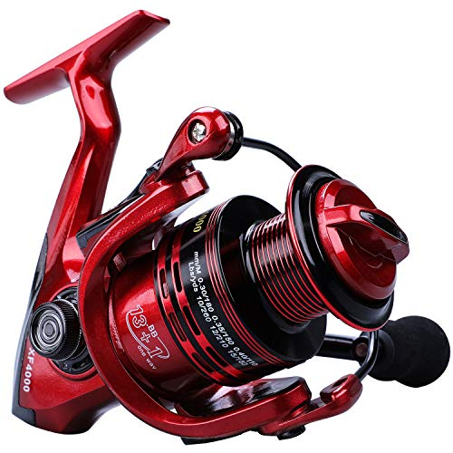 YONGZHI Fishing Reels,13+1BB Light Weight and Ultra Smooth Powerful Spinning Reels for Saltwater and Freshwater Fishing-5000R
