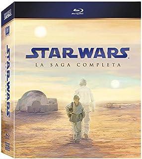 Star Wars La Saga Completa [Blu-ray] (2011) (B005C2UFCE) | Amazon price tracker / tracking, Amazon price history charts, Amazon price watches, Amazon price drop alerts