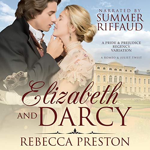 Elizabeth and Darcy audiobook cover art