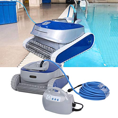 Sale!! TOPINCN Robotic Pool Cleaner, Automatic Underwater Swimming Pool Cleaner Wireless Remote Cont...