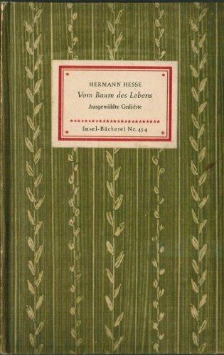 Vom Baum des Lebens - Gedichte - Insel Bücherei Nr. 454