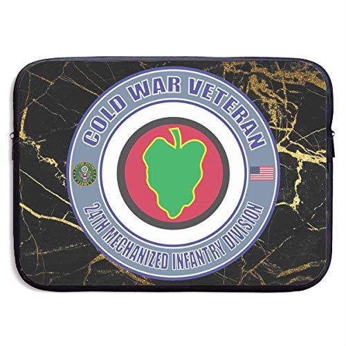 Veterano De Infantería Mech 24 De La Guerra Fría Del Ejército De Ee. Uu. Estuches Para Tablet Pc,Hombre/Mujer Tableta Sleeve,Funda Para Portátil,Funda Protectora,Fundas Blandas Para Tablets,Malet 13In