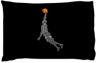 personalized basketball pillow