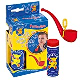 Pustefix Puste-Pipe I 70 ml Seifenblasenwasser I Bunte Bubbles Made in Germany I Seifenblasen Spielzeug für Kindergeburtstag, Polterabend, Sommerparty & Hochzeit I Pfeife für Kinder &...