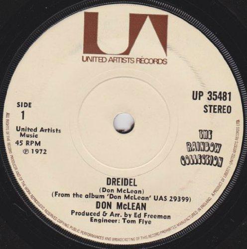 Dreidel - Don McLean 7' 45