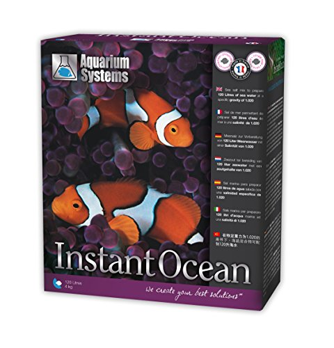 Aquarium Systems Instant Ocean Sel pour Aquariophilie 4 kg/120 L