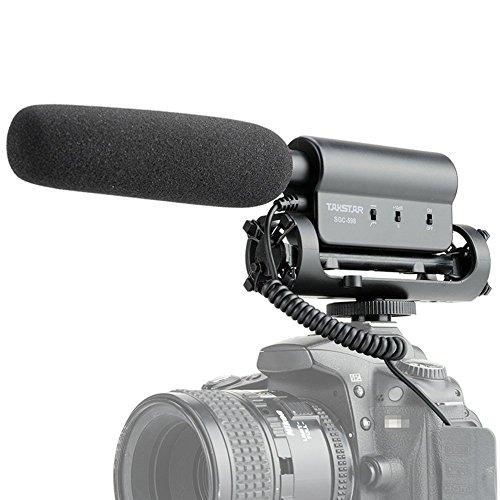Micrófono de entrevista SGC-598, de TAKSTAR, para cámara Nikon, Canon,...