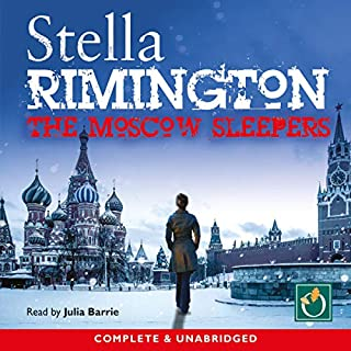 The Moscow Sleepers                   By:                                                                                                                                 Stella Rimington                               Narrated by:                                                                                                                                 Julia Barrie                      Length: 10 hrs and 2 mins     25 ratings     Overall 4.3