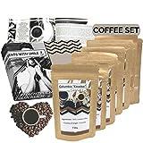 Viaje de café alrededor del mundo Caja de 360 g como un paquete de muestra de café fino de todo el mundo en una caja de regalo como regalo para los amantes del café