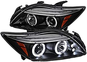 Spec-D Tuning 2LHP-TC05JM-TM Black Projector Headlight (Halo Led)