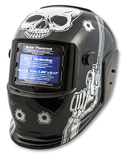 Shop Iron 41282 Solar Powered Auto Darkening Welding Helmet