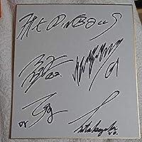 THE PINBALLS 直筆サイン色紙