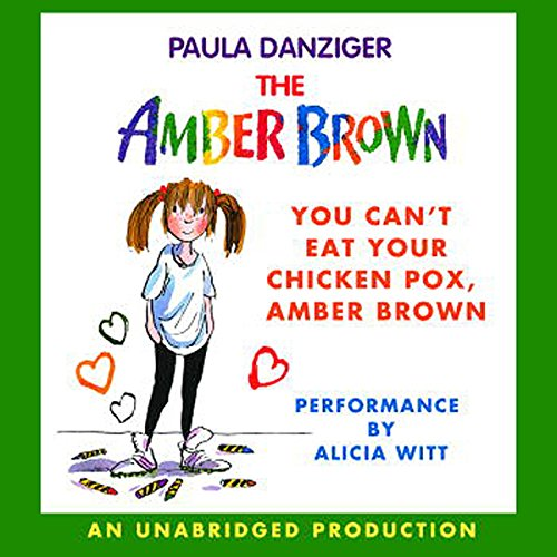 You Can't Eat Your Chicken Pox, Amber Brown audiobook cover art