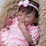 Yeah-hhi Muñecas Reborn 20'Real Soft Soft Silicone Realistic Dolls Realistic Dolls Lifelike Reborn Baby Juguetes para Age3 +