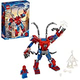 LEGO Marvel Spider-Man: Spider-Man Mech 76146 Kids' Superhero Building Toy, Playset with Mech and...