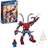 LEGO Marvel Spider-Man: Spider-Man Mech 76146 Kids' Superhero Building Toy, Playset with Mech and Mi...