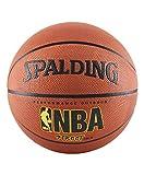Spalding NBA Street Outdoor Basketball, Size 7 - Official Size (29.5'), Orange