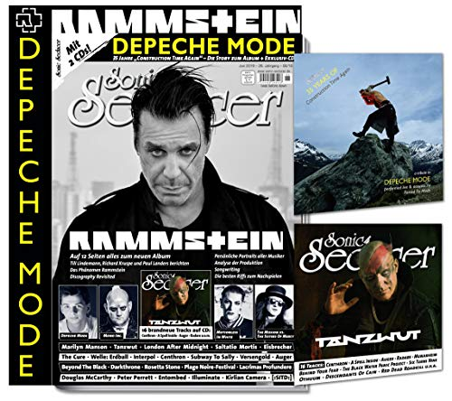 Sonic Seducer 06-2019 + 12-Seiten Rammstein-Titelstory + im Mag: Depeche Mode, The Mission & The Sisters Of Mercy u.v.m. + 35 Years Of ,Construction Time Again -Tribute-CD + weitere CD-Beilage
