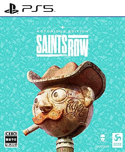 Saints Row(セインツロウ)ノートリアスエディション - PS5【同梱物】エクスパンションパス、ボーナスコンテンツ1、ボーナスコンテンツ2、スチールブック、ミニアートブック、両面ポスター、ポストカード4枚、キャラクターアートカード4枚、限定パッケージ &【初回封入特典】The Idols Anarchy Pack