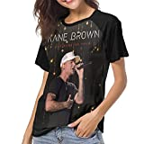 Kane Brown Baseball Tee Shirts Women Short Sleeve Top T Shirt