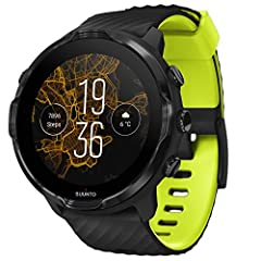 Suunto 7: This versatile smart watch combines Suunto's sports expertise with smartwatch technology; Track exercise accurately with access to more than 70 sports modes, GPS, and wrist heart rate sensor Make Life Easier: Compatible with both Android an...