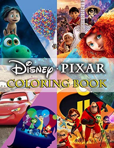 Pixar Coloring Book: Pixar Collection Coloring Books. Perfect For Kids Of All Ages