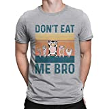 SOUND OF TEE Camisetas veganas para hombre, cuello redondo, manga corta, regalo divertido
