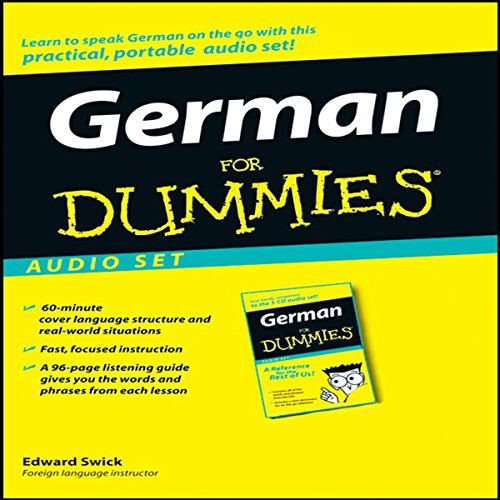 German For Dummies audiobook cover art