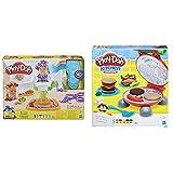 Play-Doh-La Barberia (Hasbro E2930EU6) + La Barbacoa (Hasbro B5521EU7) , Color/Modelo Surtido