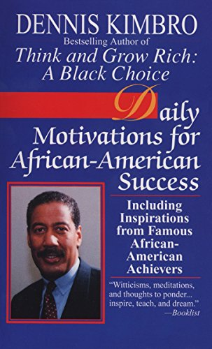 Price comparison product image Daily Motivations for African-American Success: Including Inspirations from Famous African-American Achievers