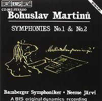 マルティヌー:交響曲 第1番、第2番 [Import]