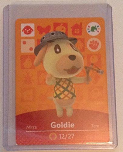 Nintendo Animal Crossing amiibo Festival Card Goldie by Nintendo