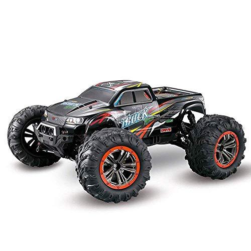 ZCYXQR Coche de Juguete con Control Remoto RC 1:10 Rati4WD Vehículo Todo Terreno eléctrico Todoterreno 2.4GHz RadiController Carreras de Alta Velocidad Bigfoot Monste